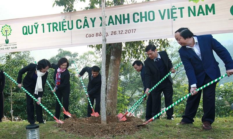 Hành trình về nguồn của Vinamilk và Quỹ 1 triệu cây xanh tại tỉnh Cao Bằng