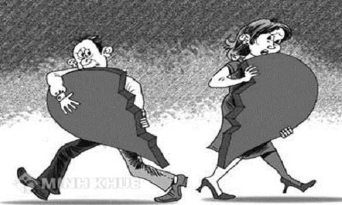 Dấu lặng một phiên tòa ly hôn