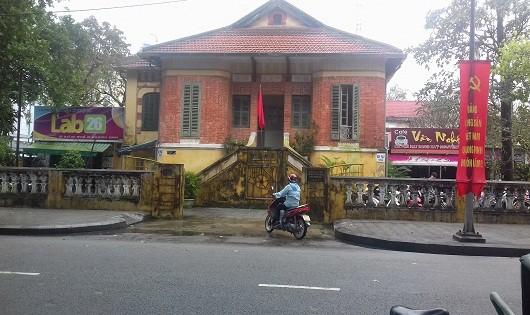 Trụ sở của Liên hiệp Các hội Văn học nghệ thuật tỉnh Thừa Thiên - Huế