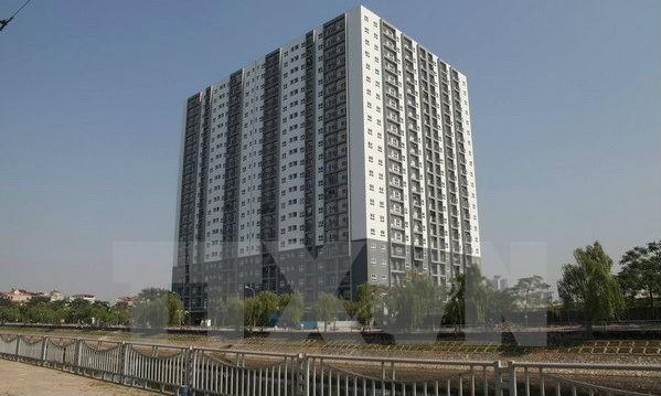Dự án nhà ở xã hội Đồng Mồ-Đại Kim (quận Hoàng Mai, Hà Nội). (Ảnh: Minh Nghĩa/TTXVN)