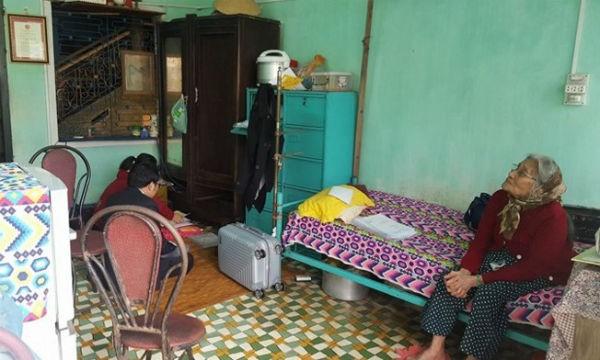 Căn nhà chật chội nơi bà Đoan chuyển đến sinh sống