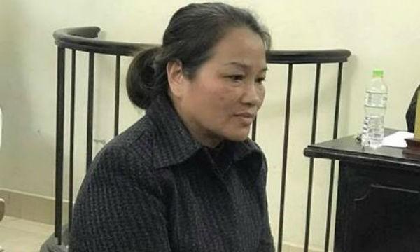 Bị cáo Nguyễn Thị Phượng. Ảnh ANTĐ
