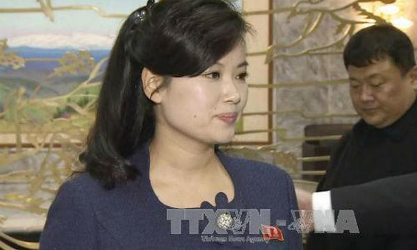 Nữ ca sỹ Hyon Song-Wol. Ảnh: YONHAP/TTXVN
