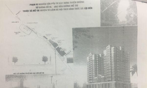 """Phối cảnh dự án thể hiện có tòa nhà cao tầng khiến bà Dân tin tưởng """"mua cổ phần"""" của ông Hiền"""