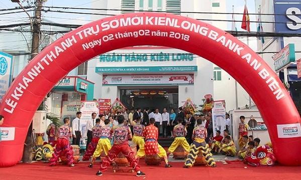 Kienlongbank khánh thành 02 trụ sở mới tại tỉnh Kiên Giang