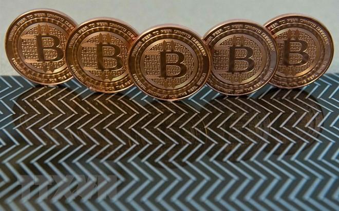 Đồng bitcoin tại Washington. (Nguồn: AFP/TTXVN)
