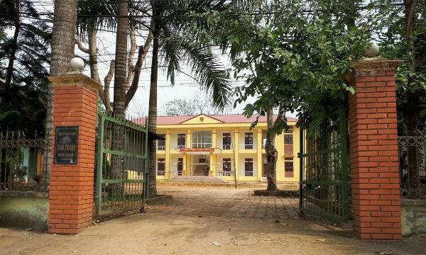 UBND xã Tam Thanh, nơi để xảy ra các sai phạm theo tố cáo của người dân