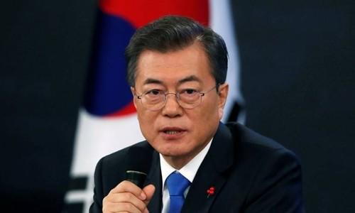 Tổng thống Hàn Quốc Moon Jae-in. Ảnh: Reuters/VnExpress