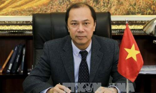 Thứ trưởng Bộ Ngoại giao Nguyễn Quốc Dũng. Ảnh: TTXVN