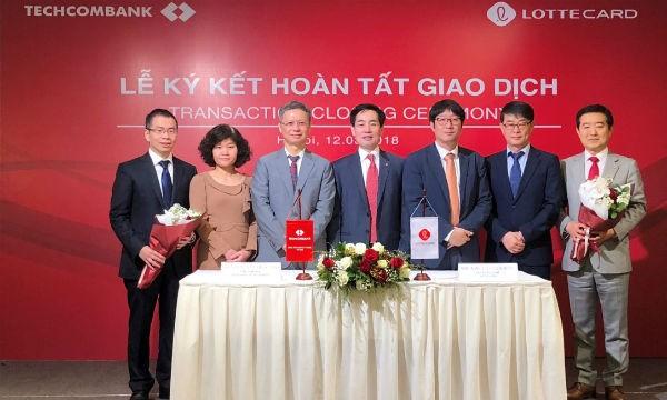 Techcombank hoàn tất chuyển nhượng TechcomFinance cho đối tác Hàn Quốc