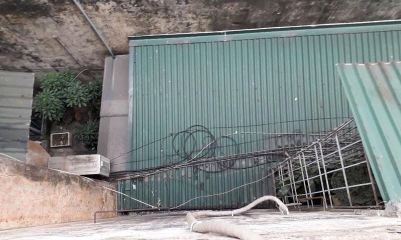Lối đi chung đã bị biến thành nhà ở