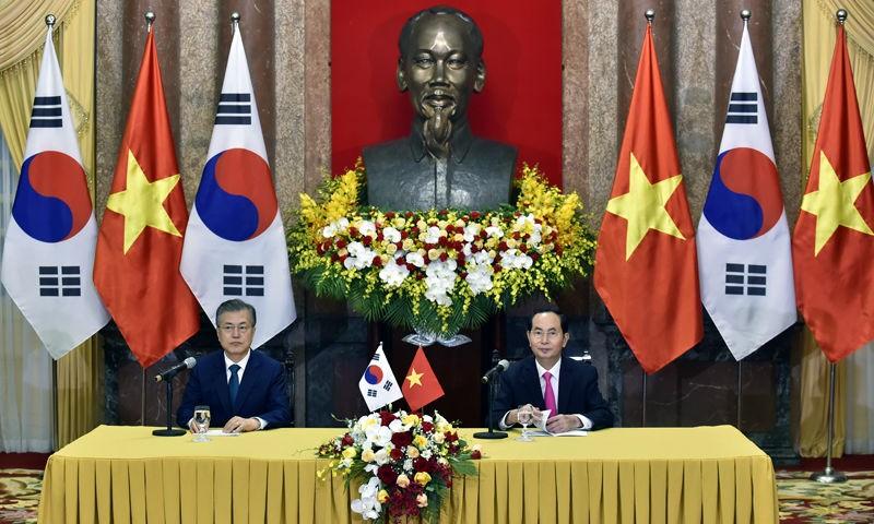 Việt Nam - Hàn Quốc quyết tâm đạt kim ngạch thương mại song phương 100 tỷ USD
