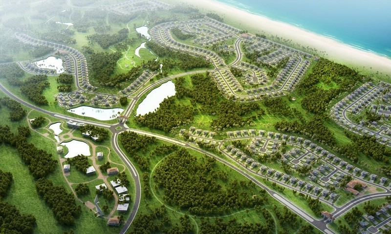 Tổ hợp FLC Quảng Bình Golf Links được bổ sung vào quy hoạch golf Việt Nam