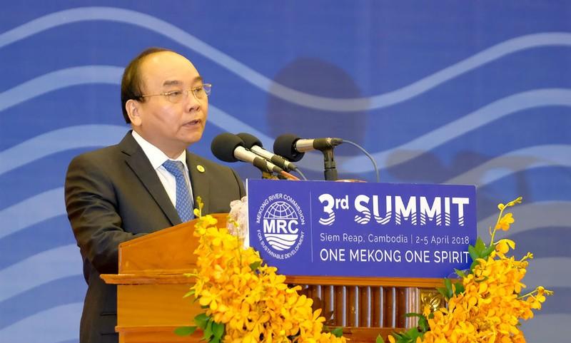 Sử dụng bền vững, hợp lý và công bằng nguồn nước sông Mekong