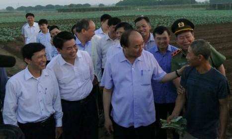 Lần đầu tiên Thủ tướng đối thoại với nông dân