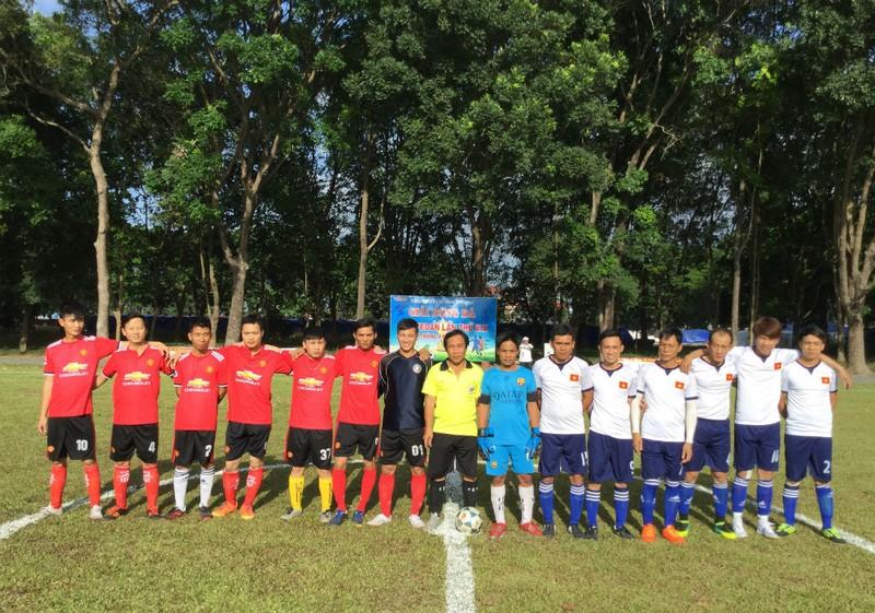 Vedan Việt Nam tổ chức giải bóng đá chào mừng kỷ niệm Lễ 30/4 và Quốc tế Lao động