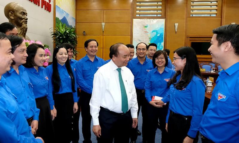 Thủ tướng cho rằng cần tăng cường đối thoại với thanh niên để hiểu được tâm tư, nguyện vọng của thanh niên