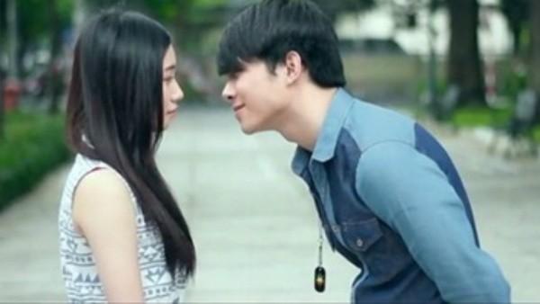 Một cảnh trong phim ngắn được yêu thích Mùa yêu đầu tiên của đạo diễn Luk Vân
