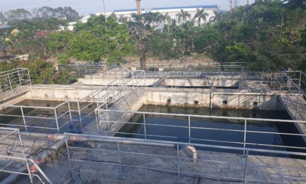 Trạm xử lý nước thải ngày càng xuống cấp mặc dù chưa đi vào hoạt động