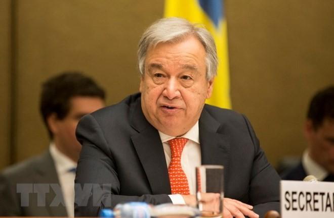 Tổng Thư ký Liên hợp quốc Antonio Guterres. (Nguồn: THX/TTXVN)