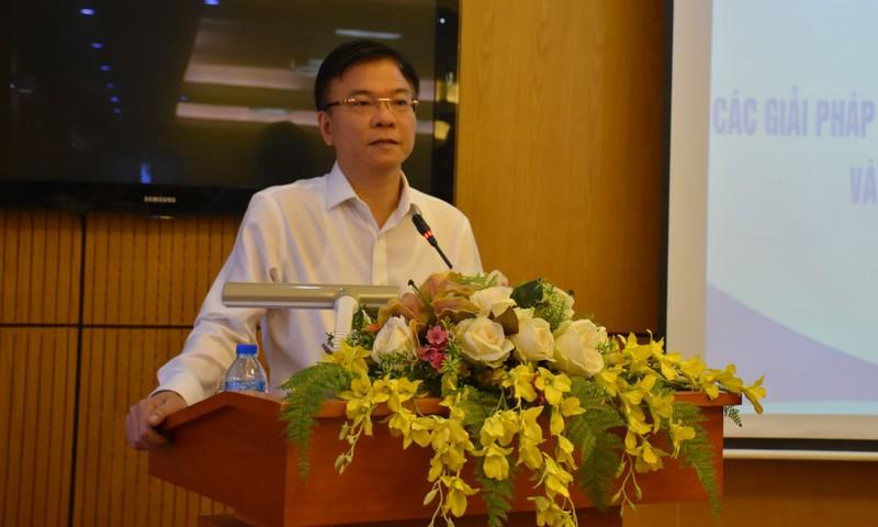 Bộ trưởng Lê Thành Long phát biểu tại Hội nghị