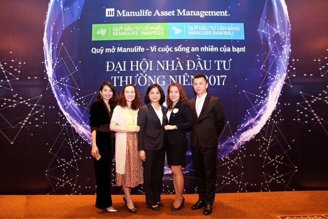 Kết quả ấn tượng của Quỹ Mở Manulife được công bố trong đại hội Nhà đầu tư năm tài chính 2017 ngày 28/03/2018