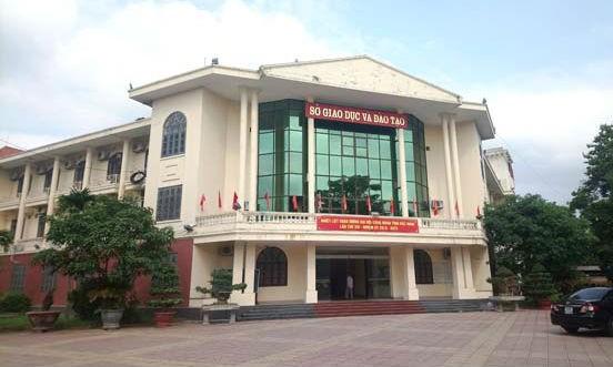 Sở GD&ĐT tỉnh Bắc Ninh - nơi để xảy ra nhiều sai phạm