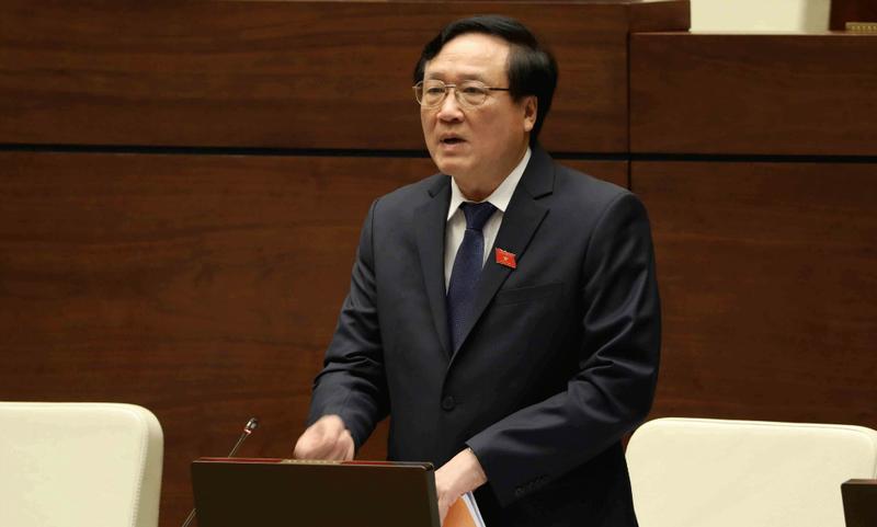 Chánh án Nguyễn Hòa Bình cho biết mô hình phòng xét xử thân thiện dành cho trẻ vị thành niên trong năm nay sẽ triển khai trên toàn quốc