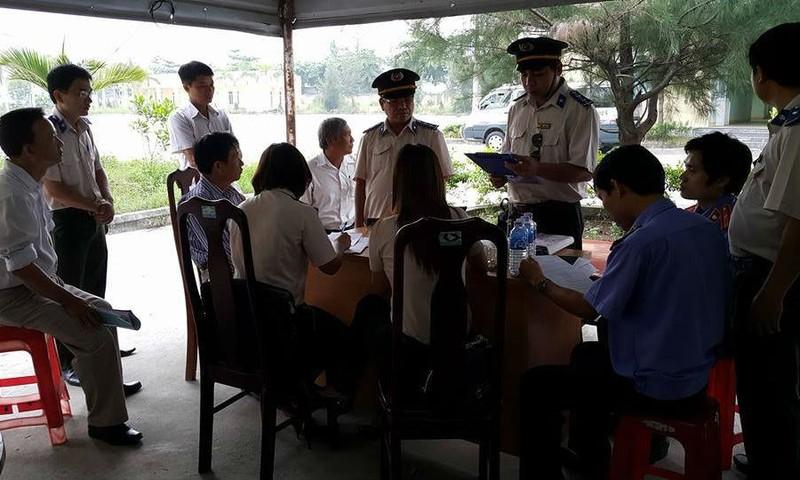 Cơ quan Thi hành án dân sự quận Liên Chiểu, Đà Nẵng công bố quyết định cưỡng chế, kê biên. Ảnh minh họa