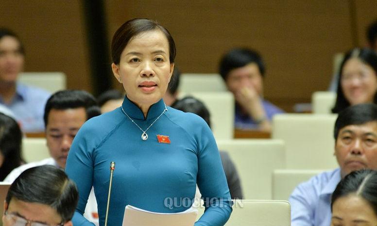 Đại biểu Quốc hội Nguyễn Thị Kim Thúy, Đoàn Đại biểu Quốc hội TP Đà Nẵng tại phiên thảo luận