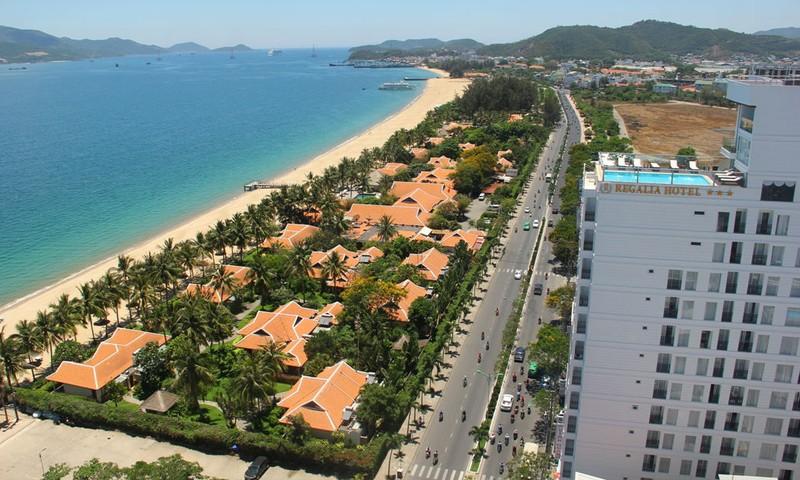 Khu resort Ana Mandara che lấp tầm nhìn biển tại Nha Trang