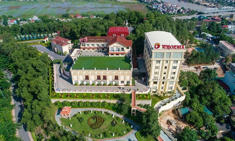 Khu du lịch quốc tế Phượng Hoàng là một trong những khu nghỉ dưỡng đầu tiên của tỉnh Bắc Ninh đạt tiêu chuẩn 5 sao