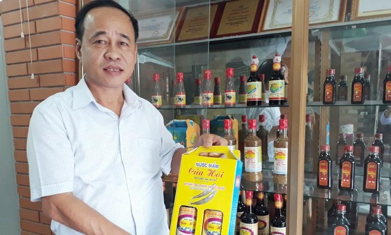 Chủ tịch HĐQT – Giám đốc Cty CP Thủy sản Nghệ An với sản phẩm nước mắm Cửa Hội trong một thời gian dài bị hiểu nhầm