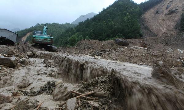 Lai Châu 25 người chết và mất tích vì mưa lũ