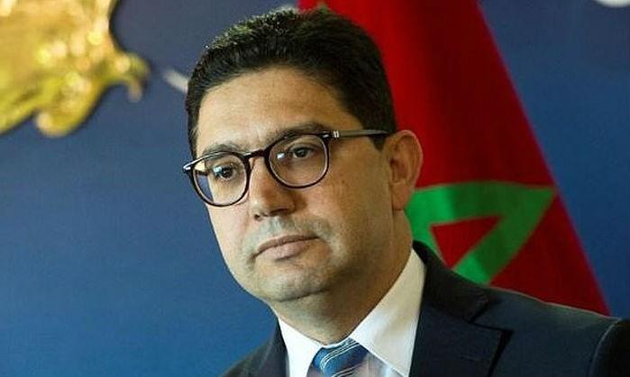 Ngoại trưởng Maroc Nasser Bourita. Ảnh ANTĐ