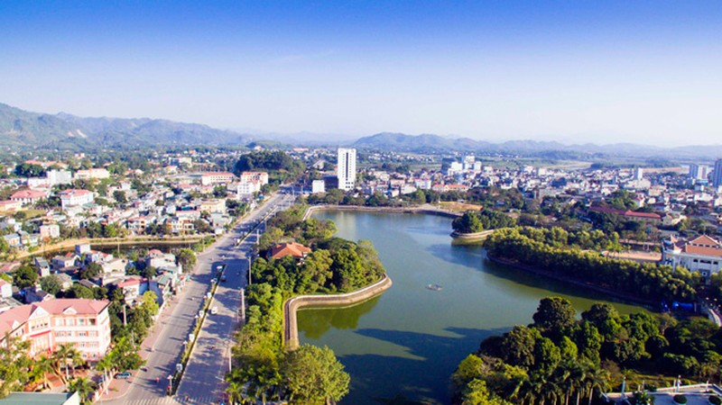 Thành phố Tuyên Quang. Ảnh Vũ Tuấn