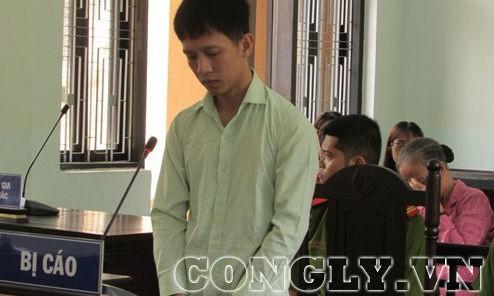 Bị cáo Thắng tại phiên tòa. Ảnh Báo Công lý