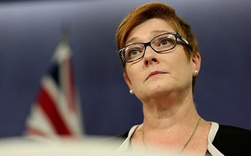 Bộ trưởng Quốc phòng Australia Marise Payne. (Ảnh: AAP/VOV)