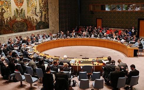 Một phiên họp của Hội đồng Bảo an Liên Hợp Quốc. (Ảnh: Reuters/VOV)