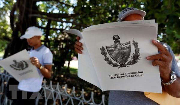 Cuba lấy ý kiến đóng góp của nhân dân về Hiến pháp mới