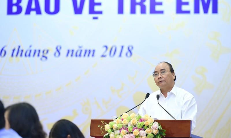 Thủ tướng đặc biệt quan tâm tới công tác bảo vệ trẻ em - Ảnh: VGP/Quang Hiếu