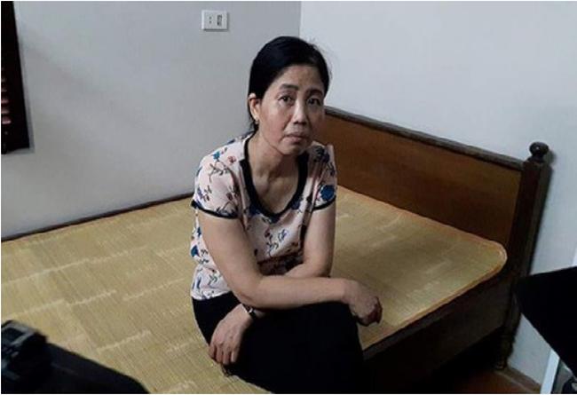 Bà Hoàng Thị Hiền. (Ảnh: Dân Trí)