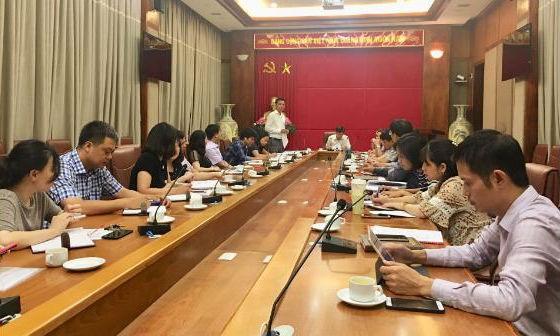 Ban Tổ chức Hội nghị ASSA 35 họp bàn rà soát lại công tác chuẩn bị Hội nghị
