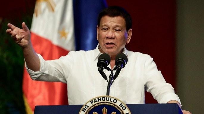 Tổng thống Philippines Rodrigo Duterte. (Ảnh: Reuters)
