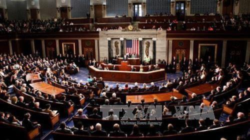 Thượng viện Mỹ sẽ sớm bỏ phiếu thông qua dự luật chi tiêu. Ảnh: TTXVN