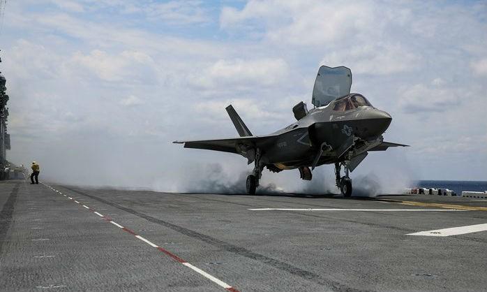 Tiêm kích tàng hình F-35B của Mỹ. Ảnh minh họa nguồn Internet