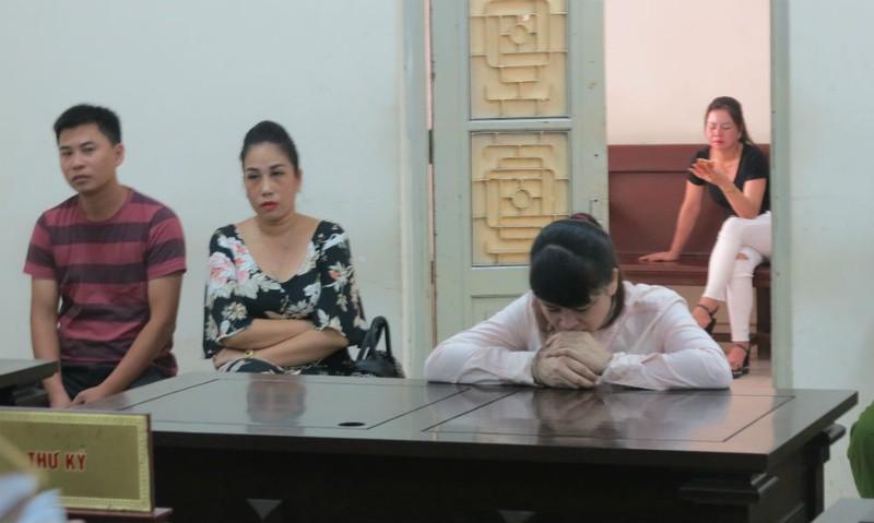 Bị cáo Chinh tại tòa