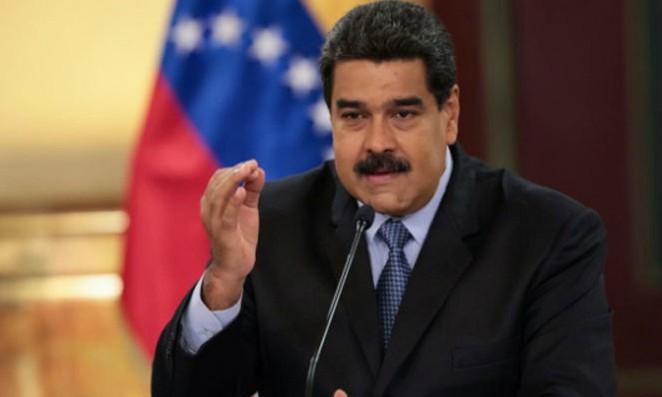 Tổng thống Venezuela Nicolas Maduro. Ảnh: Miraflores Palace/Reuters