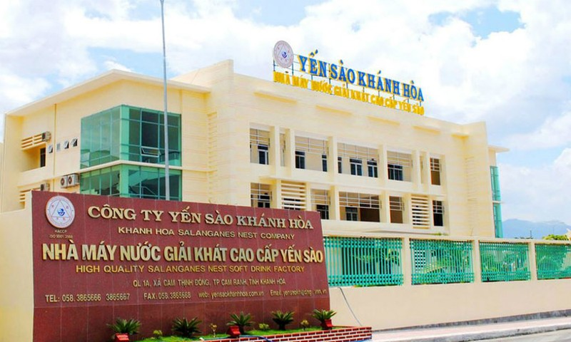 Trụ sở công ty Yến sào Khánh Hoà