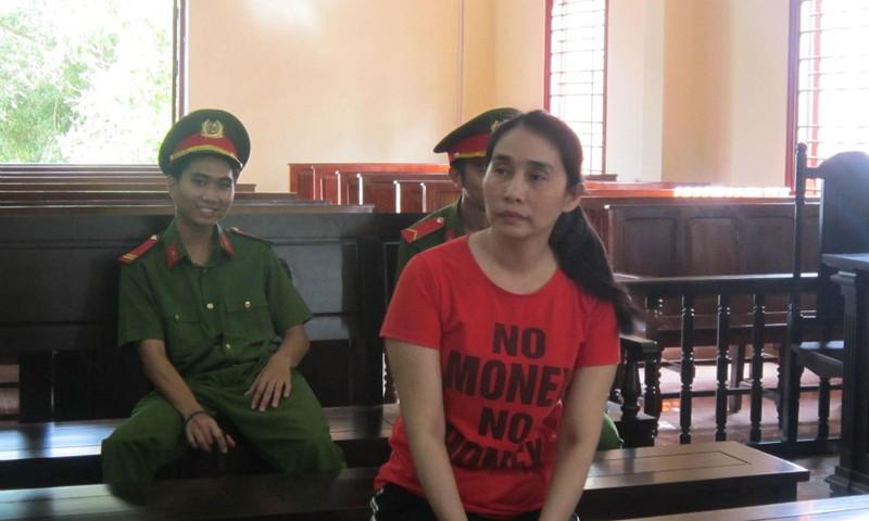 Bị cáo Luông trong thời gian chờ nghị án